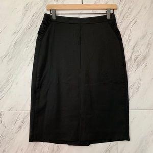 Max Azria  |  Wool Blend Skirt, Sz 4